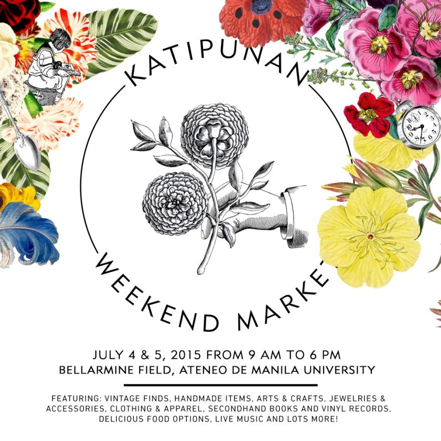 Katipunan Weekend Market One Poster
