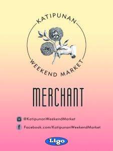 Katipunan Weekend Market Two - Merchant Pass
