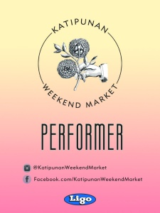 Katipunan Weekend Market Two - Performer Pass