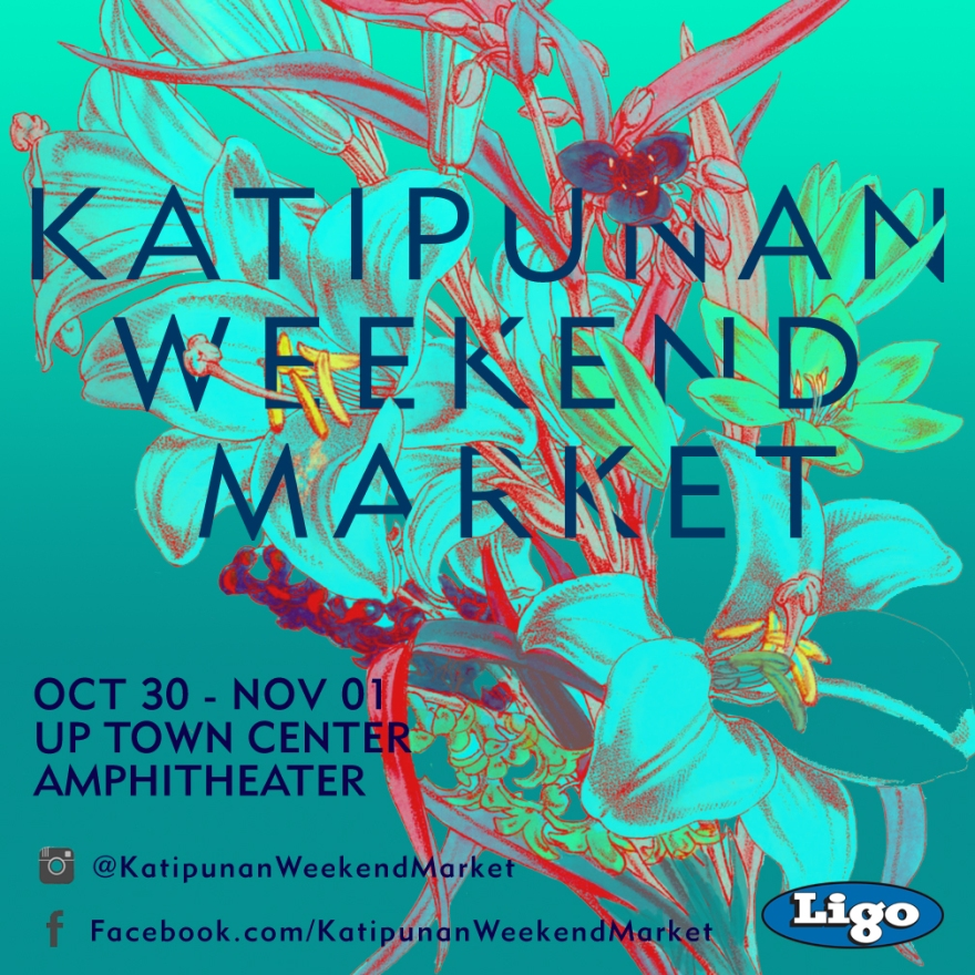 Katipunan Weekend Market Two Poster