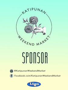 Katipunan Weekend Market Two - Sponsor Pass