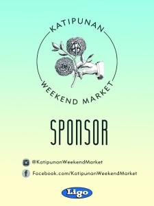 Katipunan Weekend Market Two - Sponsor Pass